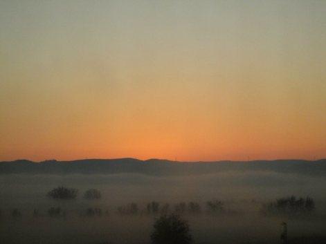 valencia sunrise