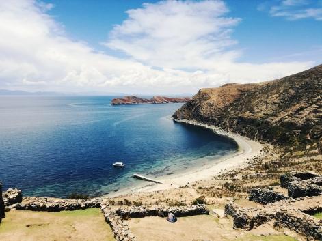 White sands, Isla del Sol
