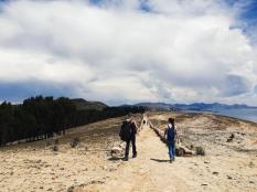 Hiking Isla del Sol